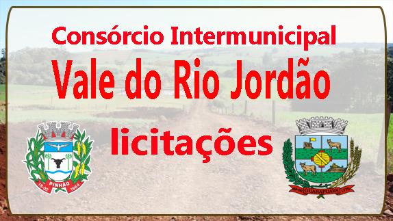 Licitações Consórcio Vale do Rio Jordão