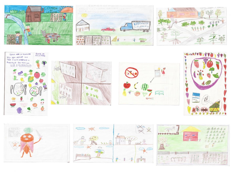 1º Concurso De Desenho Infantil Sobre Alimentacao Saudavel Ja Tem