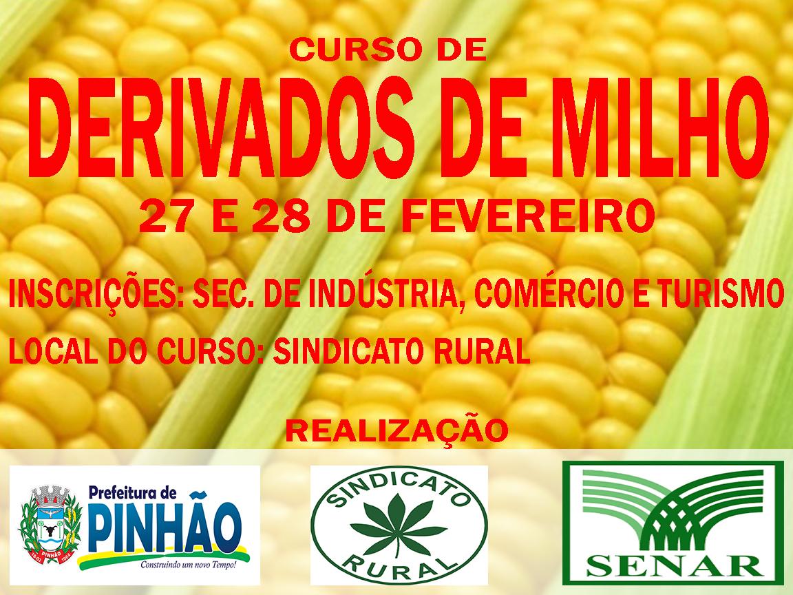CURSO DE DERIVADOS DE MILHO