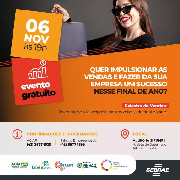 ab8ea4f7e552f A Prefeitura Municipal por meio da Sala do Empreendedor e os parceiros  ACIAP – Associação Comercial e Empresarial de Pinhão, SIFUMPI – Sindicato  dos ...